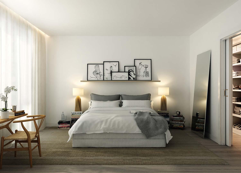 Design interior kamar minimalis - Desain Kamar Tidur Artistik