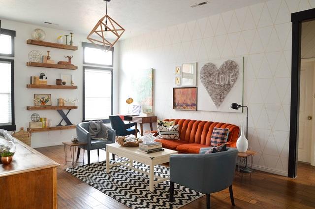 Desain rumah klasik minimalis type 36