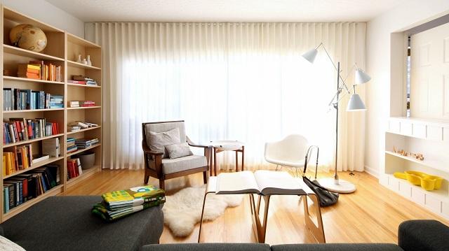 interior rumah yang sehat dan menyegarkan