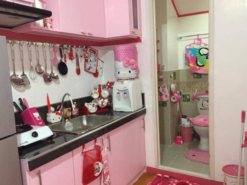 Desain rumah Hello Kitty