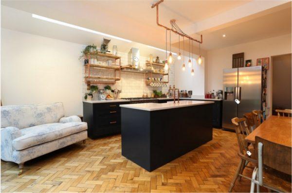 Desain Dapur Industrial Dapur Rumah Ala Kafe Interiordesign Id