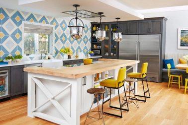 dapur gaya tradisional modern