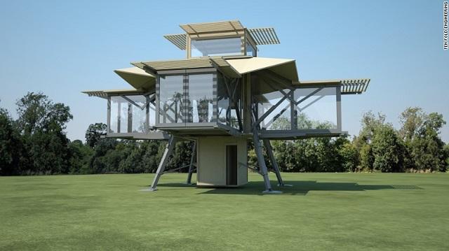 Desain rumah kecil prefabrikasi