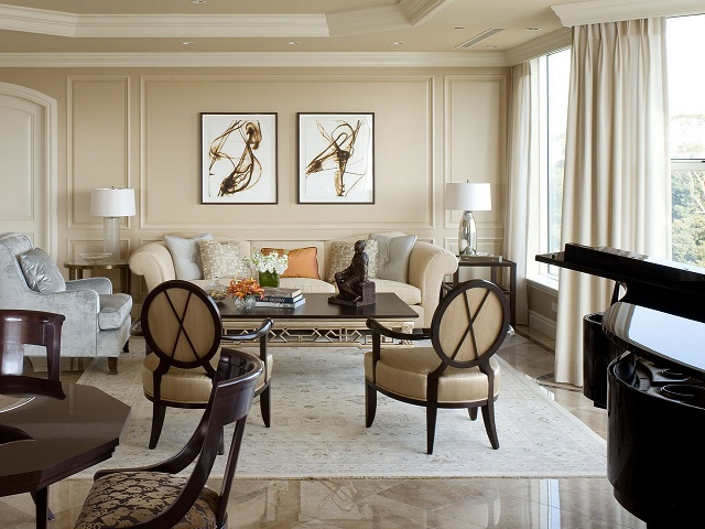 desain interior klasik kontemporer