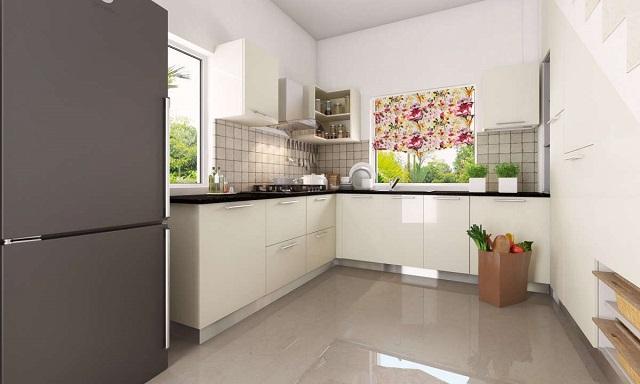 Dapur modular model kitchen set terbaru untuk rumah for Pemasangan kitchen set