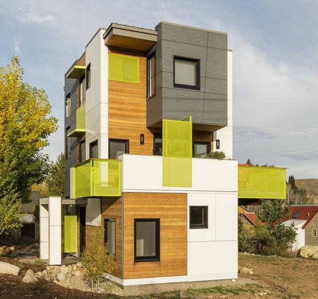 rumah kecil 100 meter persegi 3 lantai tata ruang rumah