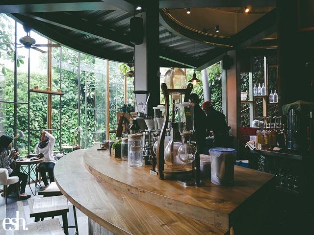 6 Gaya Desain Interior Kedai Kopi Di Kota Bandung Yang
