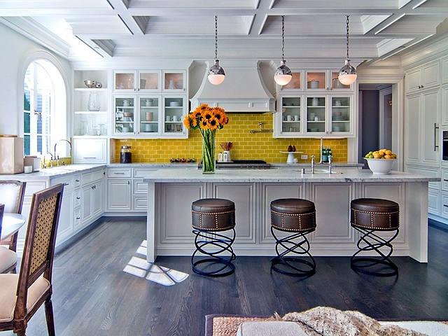 Desain dapur neoklasik