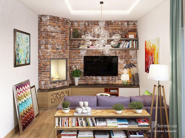 dekorasi ruang tamu rumah type 45