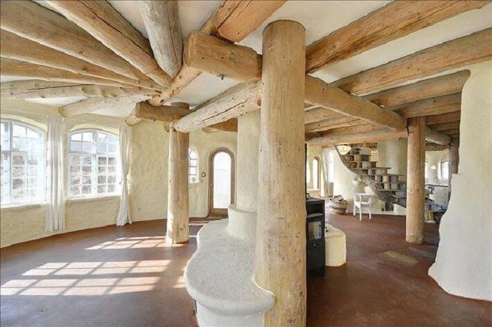 Desain rumah ramah lingkungan; desain interior rumah modern-cob