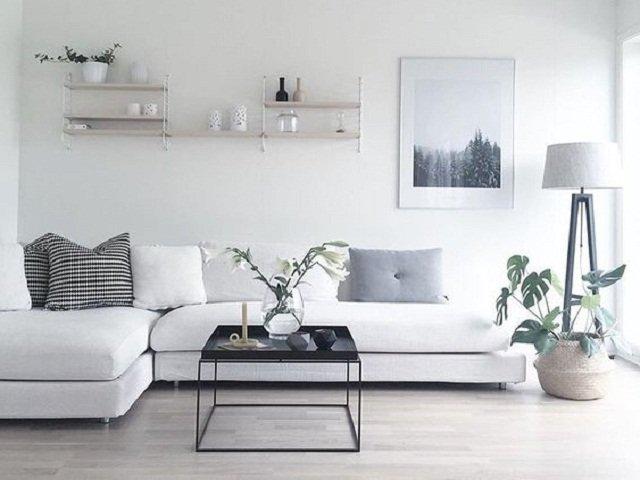 dekorasi interior sederhana