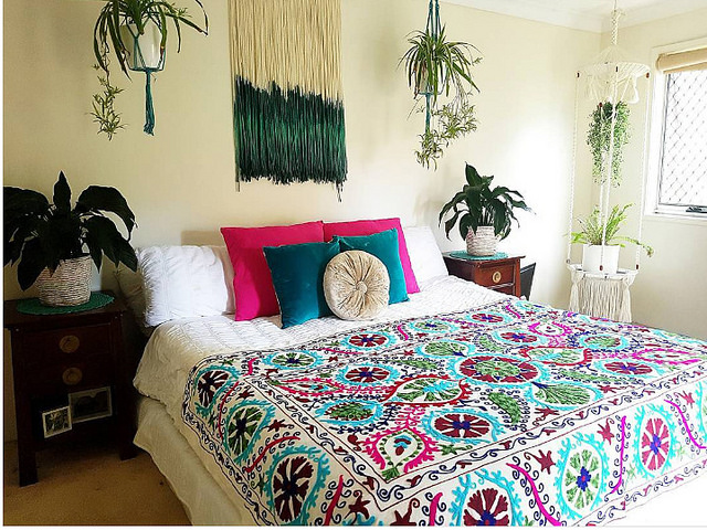 apartemen bohemian minimalis