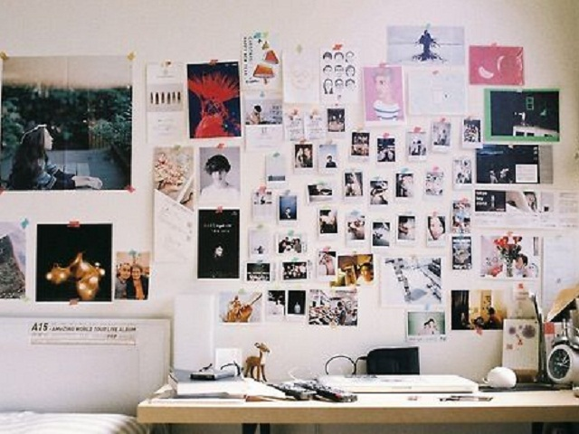 dekorasi meja kerja