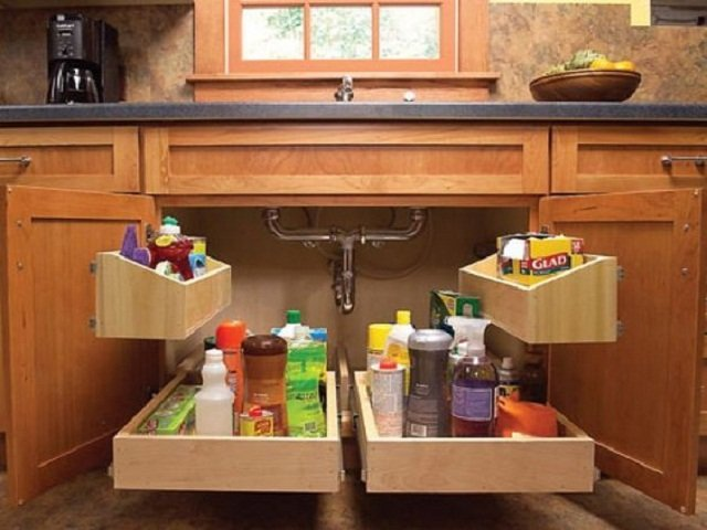 dekorasi storage dapur