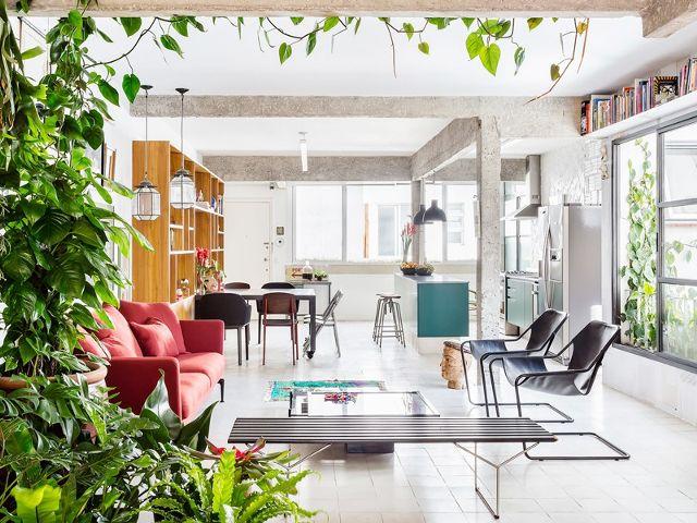 desain rumah lantai terbuka