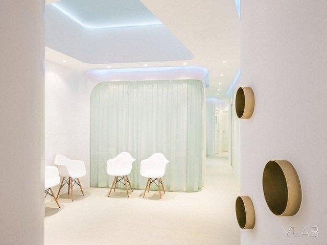 desain klinik gigi futuristik