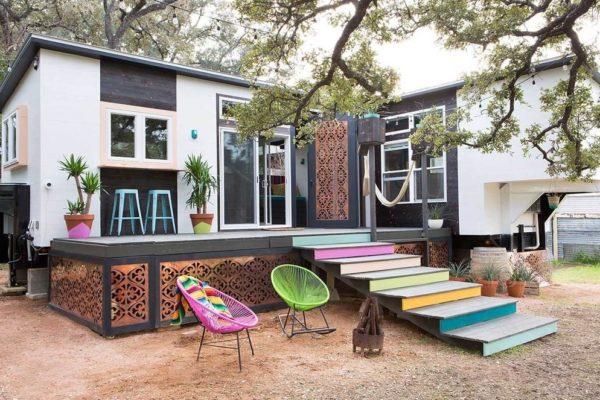 desain fasad rumah kecil
