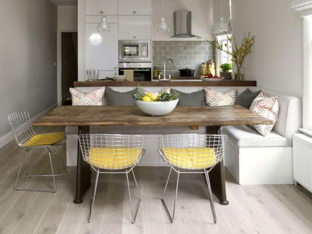 Gaya Desain Minimalis Kreasikan Ruang Keluarga Plus Ruang Dapur