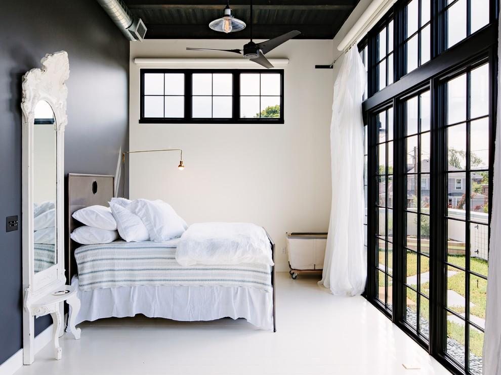 desain langit-langit kamar tidur gaya industrial
