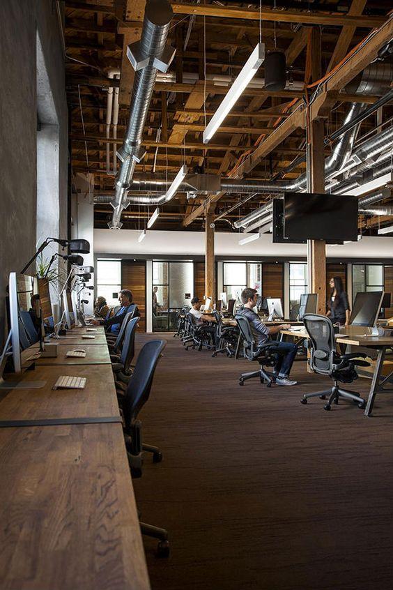 desain kantor ala kafe
