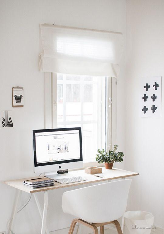 desain ruang kerja kecil