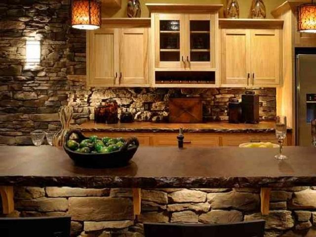 desain rumah gaya rustic