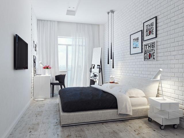 interior kamar tidur rumah type 70