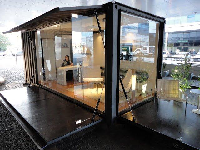 desain ruang kantor kontainer