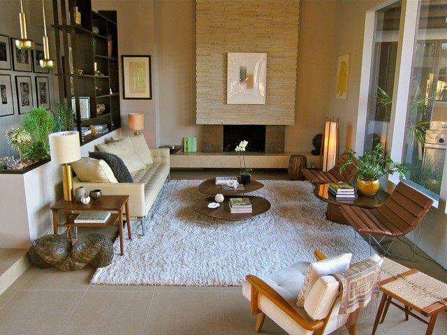 ruang keluarga modern minimalis