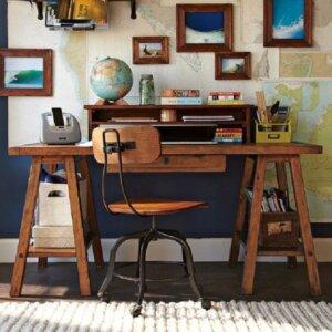desain ruang kerja, ciptakan area bekerja senyaman rumah