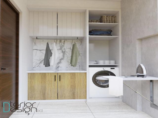 desain ruang laundry minimalis