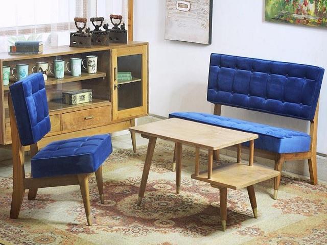 Desain Ruang Tamu Vintage Hadirkan Kenangan Lama Pada Hunian Baru