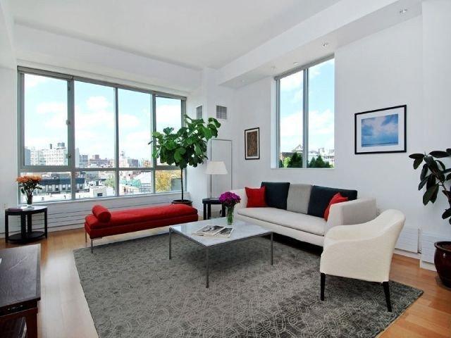 desain ruang tamu modern minimalis; gagasan desain interior asimetris