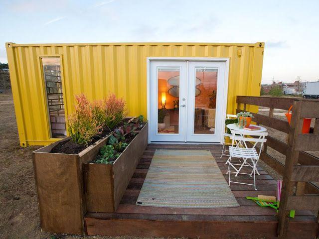desain fasad rumah kontainer modern minimalis