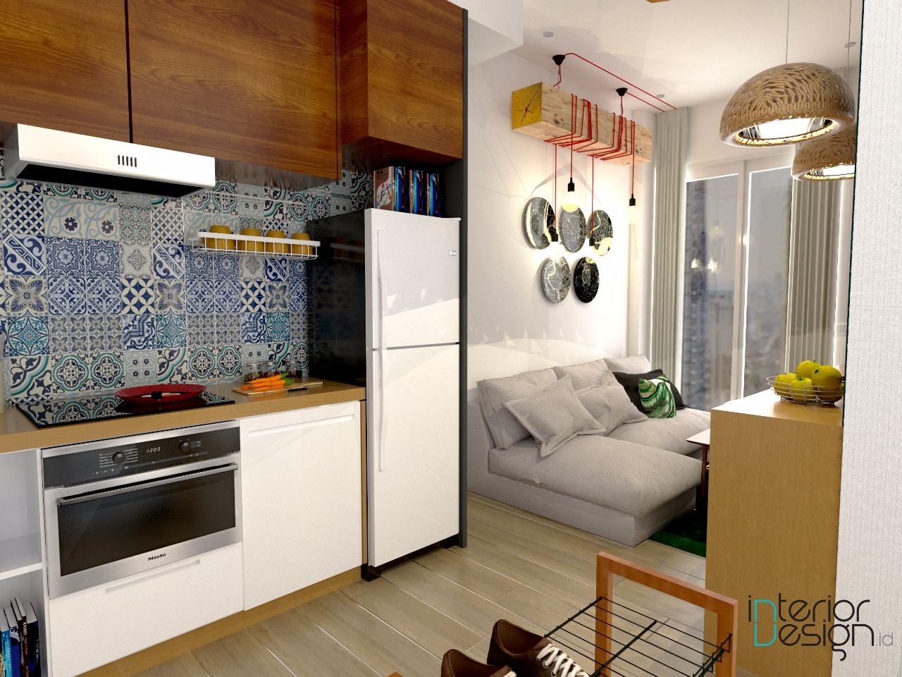 Pantry apartemen jakarta for Interior design lasalle jakarta