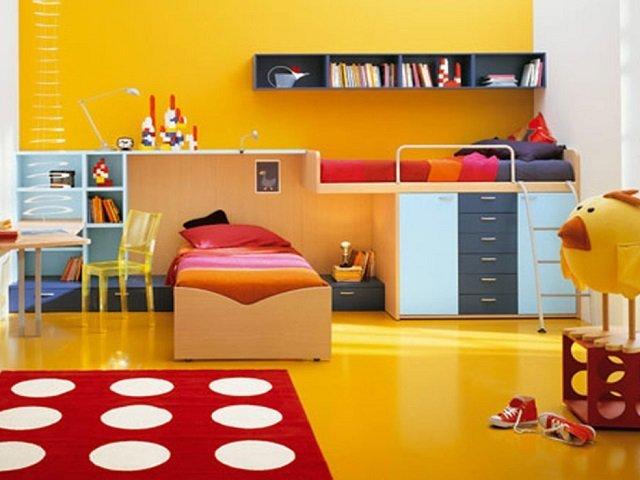 Warna Cat Kamar Tidur Anak Pilihan Warna Warna Terbaik