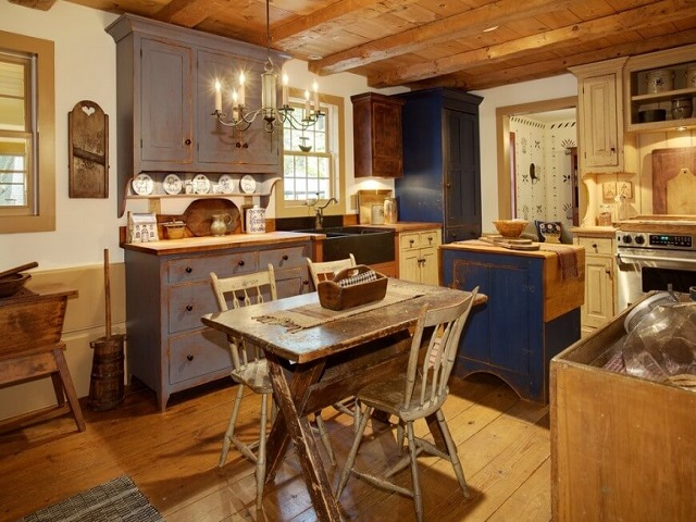 desain dapur tradisional