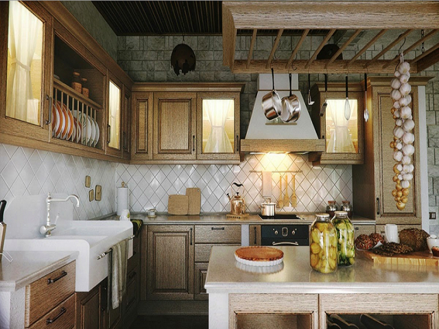 Desain Dapur Tradisional Membawa Tradisi Unik Ke Ruang Memasak