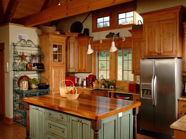Desain Dapur Tradisional Membawa