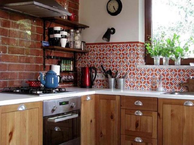 Desain Dapur Vintage Inspirasi Tampilan Dapur Jadul Era 1920an
