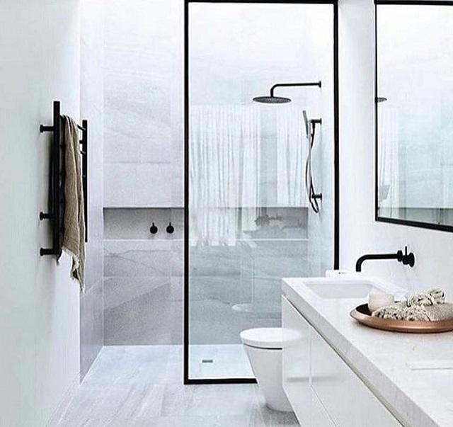 pilihan shower minimalis untuk kamar mandi minimalis