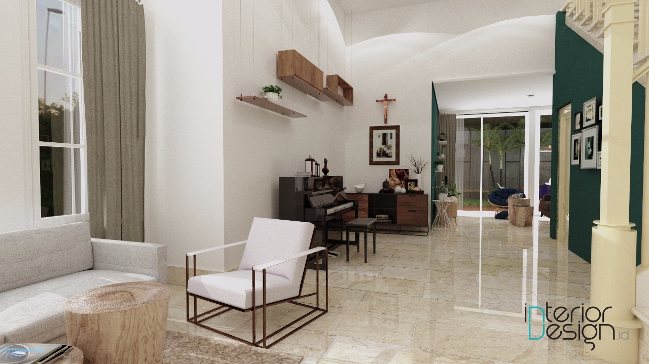 Desain Foyer : Foyer sentul bogor interiordesign id