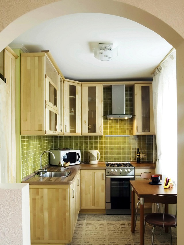 desain dapur minimalis 2x3