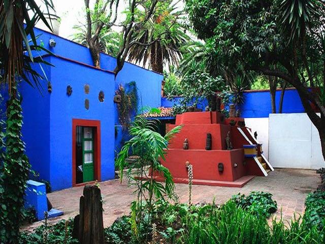 desain rumah frida kahlo