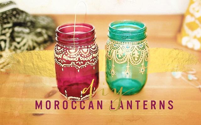 desain interior gaya maroko