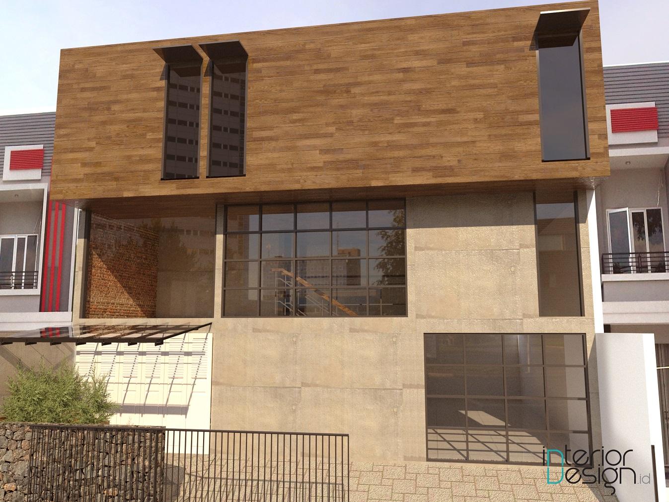 facade rumah minimalis tampak depan