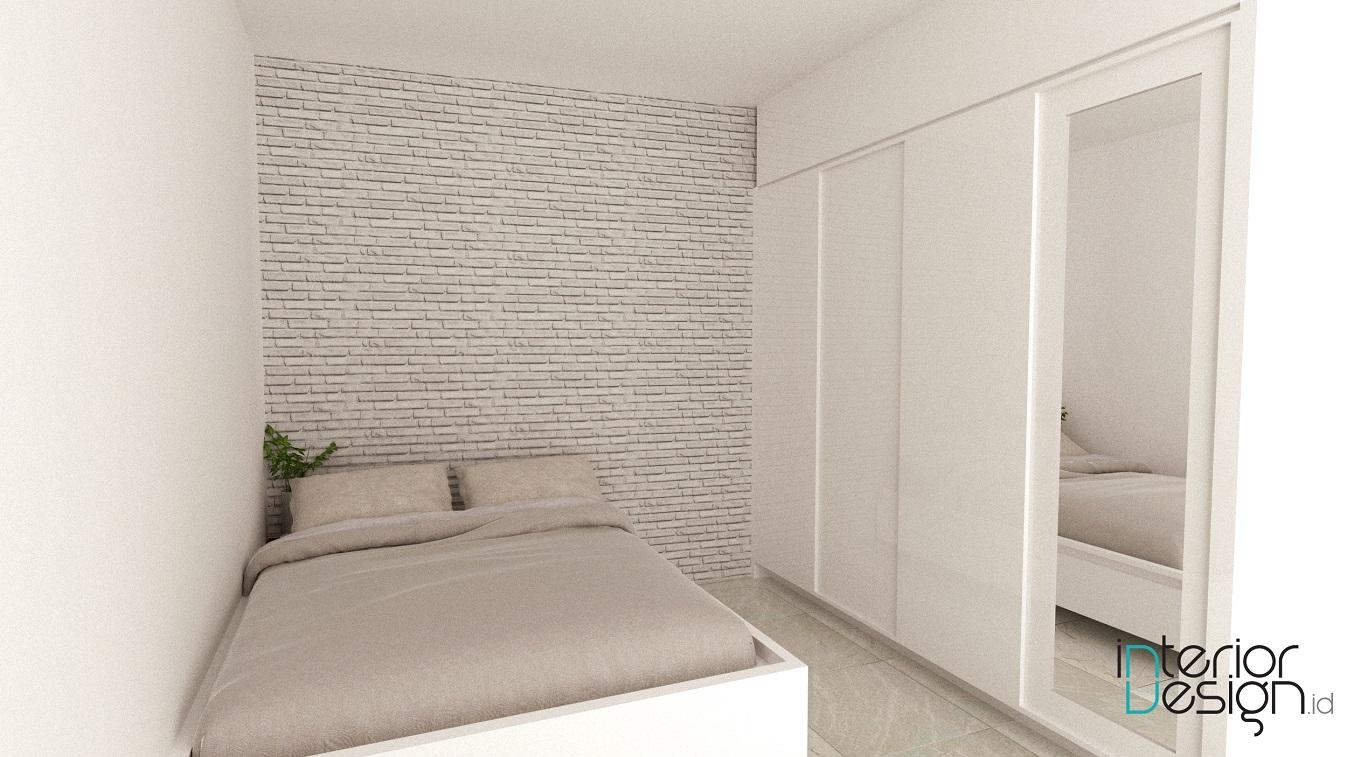kamar tidur tamu - rumah & kantor, cirebon | interiordesign.id
