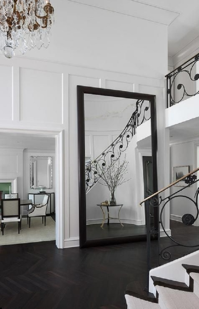 cara terbaik memasang cermin di rumah
