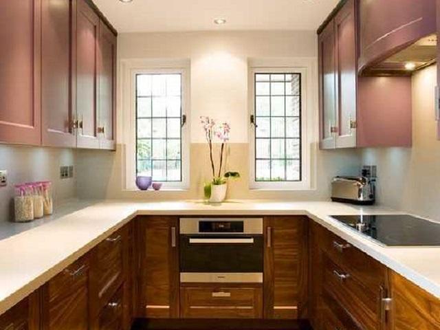 Desain Dapur Bentuk U Rancangan Dapur Kecil Yang Nyaman Dan