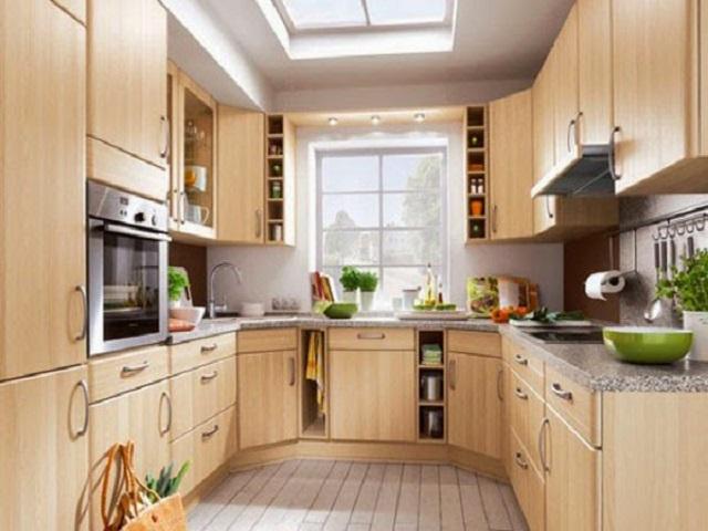 Kabinet Dapur Bentuk U Desainrumahid Com